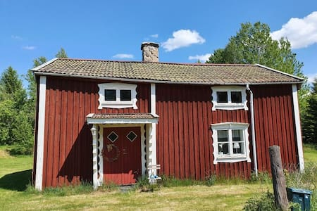 Small cottage in Småland close to forest and lakes
