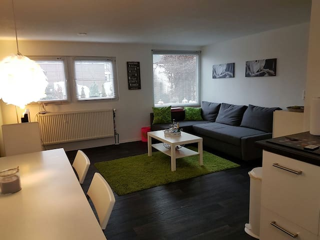 Mod. 2 room Apart/Kitch close  Ffm/Breakfast incl. - Dreieich - Apartament
