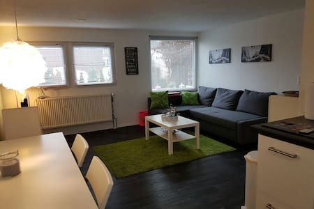 Sep. modern 2 room Apart/Kitch close to Frankfurt - Dreieich - Apartemen