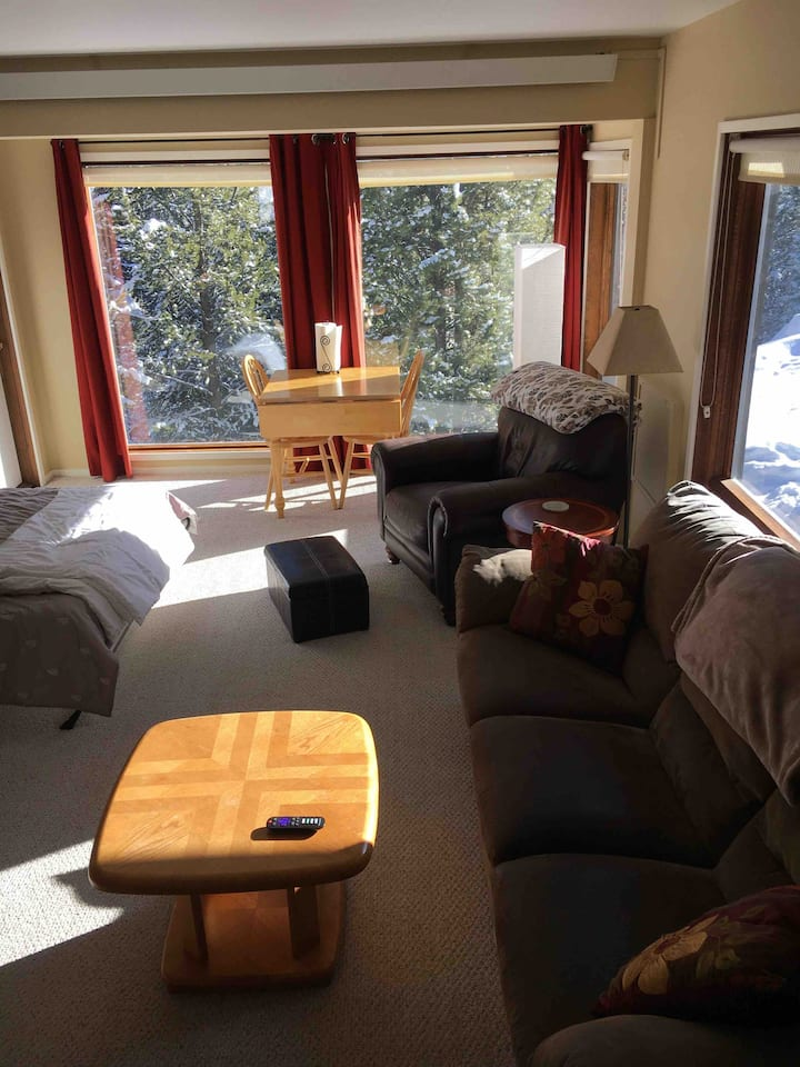 Clean, Stillwater Studio, Sleeps 4. Walk to Lifts