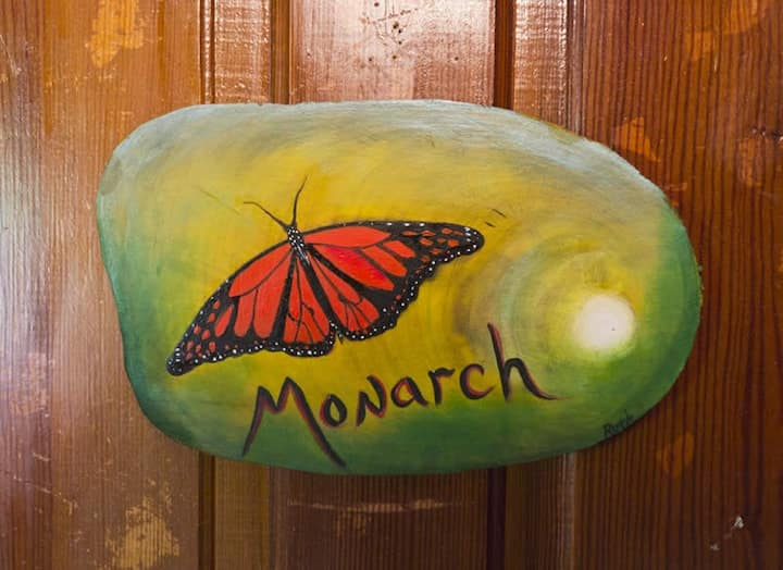 The Monarch Room at the Laughing Heart Lodge
