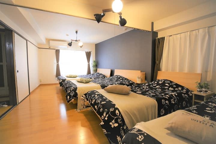 [4H] Hakata Modern Room-Free Wifi-