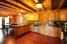 Fully Equipped, Spacious Kitchen