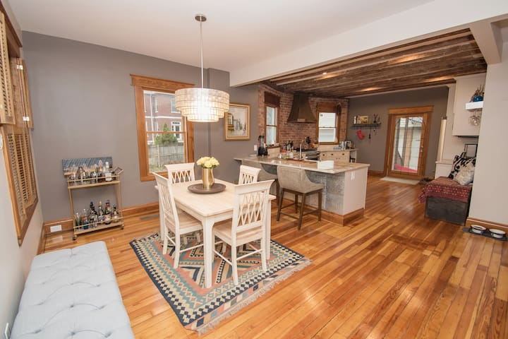 Renovated, charming home in fun Cincy neighborhood