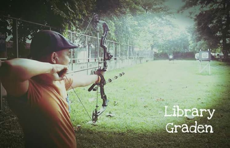 Library Garden&camping(Archery) - Mueang Mo - House