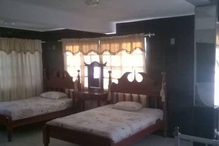 Private room in safe guest house (V.I.P. Room) - Corozal