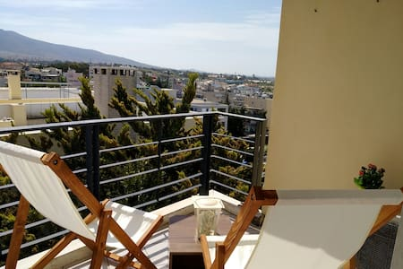 Close to the beach flat with a pool !! - Alimos - 公寓