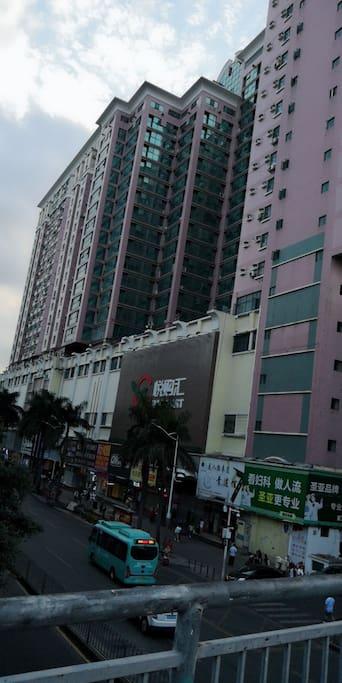 酒店大厦外观
