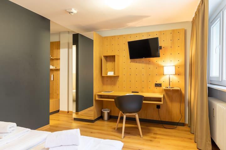 mk | hotel frankfurt - Doppelzimmer Economy