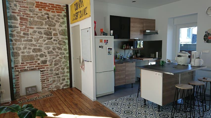 Appartement de charme- lumineux--confort