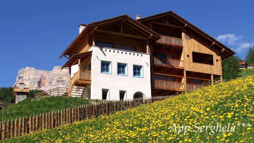 App.B  Serghela, la tua vacanza in Alta Badia