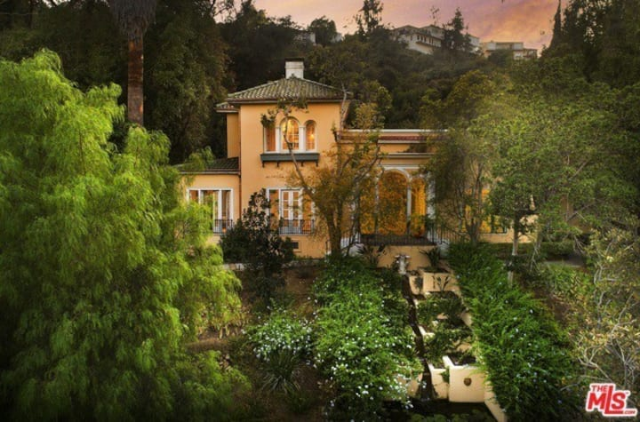 Historic 3 acre estate in the middle of Hollywood