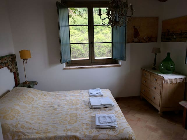 Amazing view over an Umbria valley - Piegaro - Villa