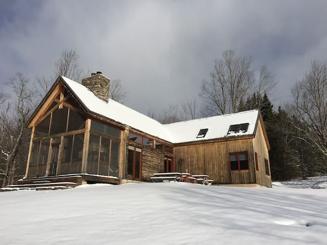 Cozy, well appointed cabin on 65 secluded acres