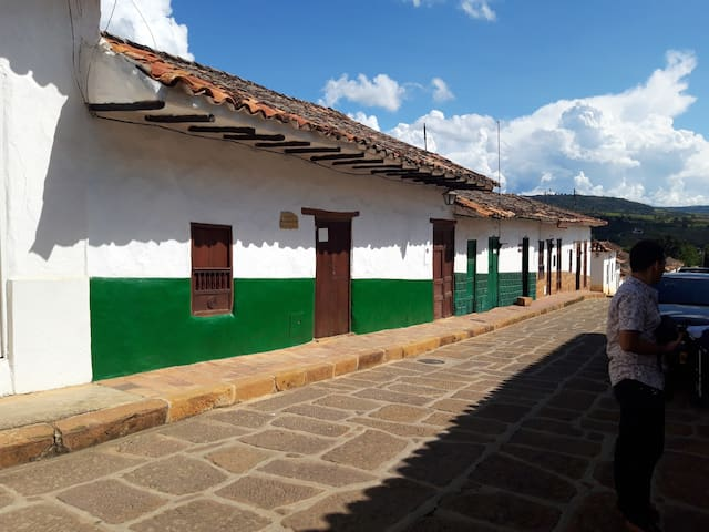 Barichara LA CASA DE  DOÑA ROSAURA