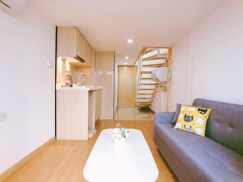 「舒舍」广州南站双层公寓|独享一房一厅