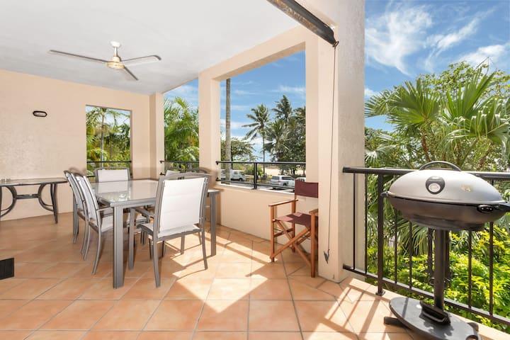 Mediterranean Beachfront Ocean Views Apartment