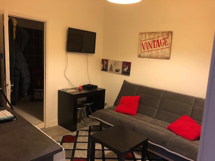 Appartement à Rouen centre à la nuitée