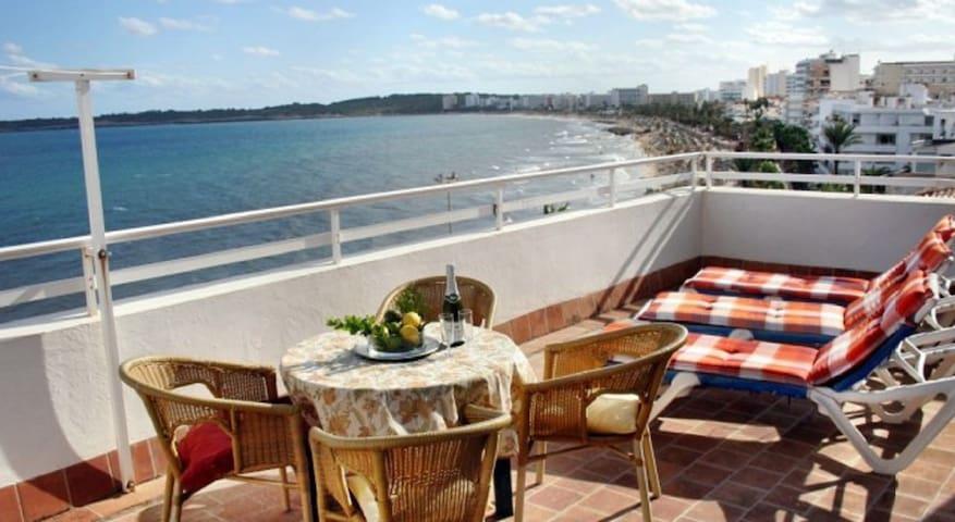 Apartment mar 3 bed balcony seaview
