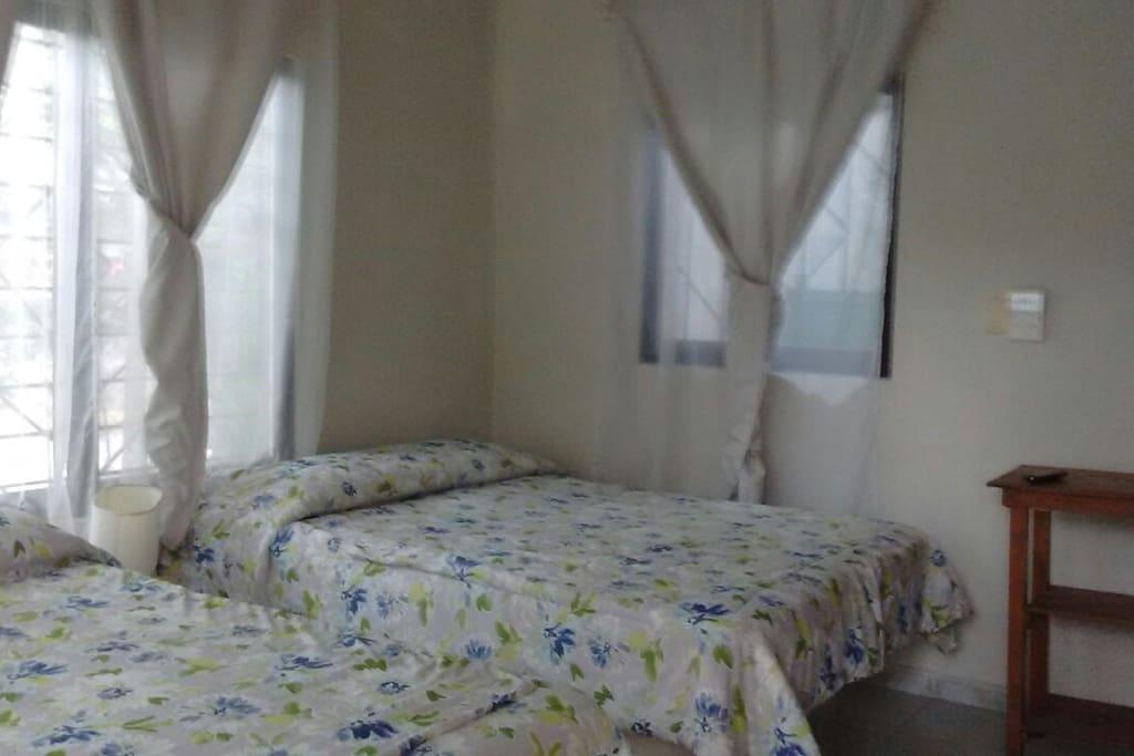 Vista interior de la habitación