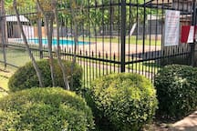 Homeowners Swimming Pool and Tennis Court, one block from home.
