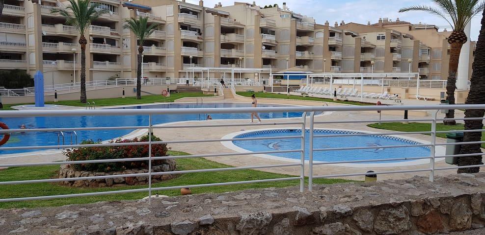 Amplio y tranquilo apartamento en Cullera