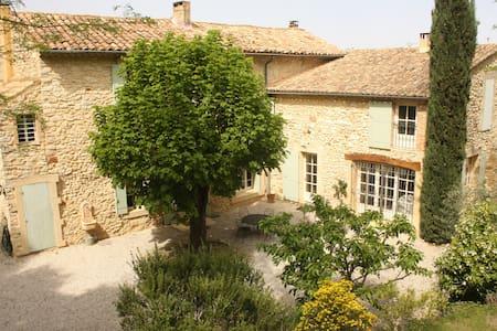 Mas provençal rénové du 19e siècle avec Piscine