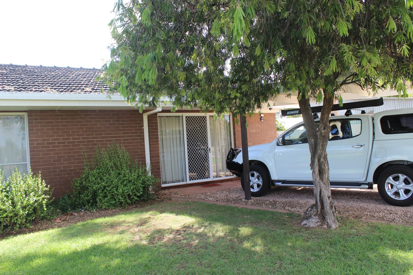 Own Carport and Entrance