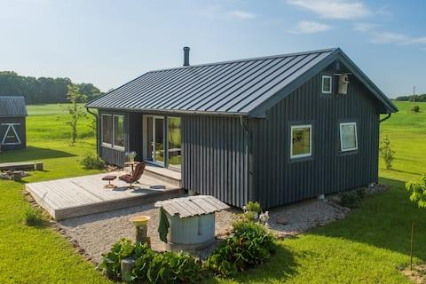 Simplicidade escandinava em Samogitia | Off-grid