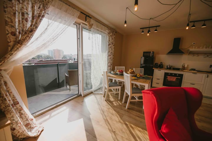City apartments Trenčín for 1 - 4 person