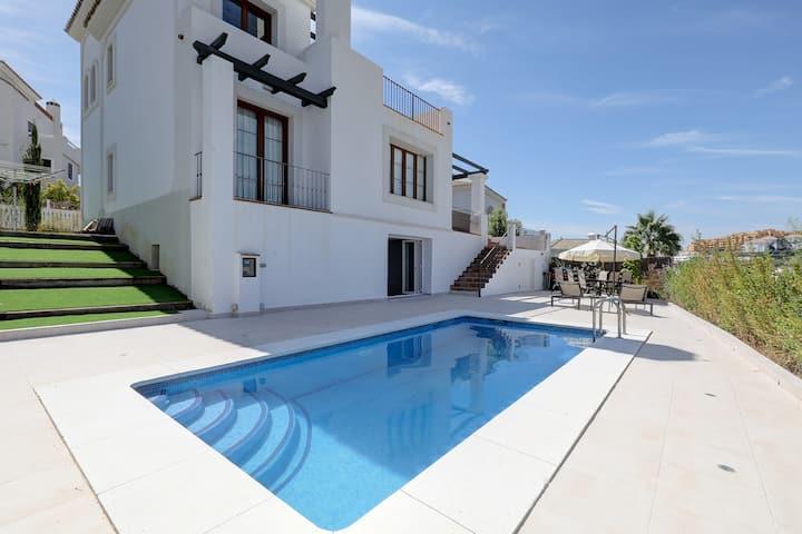 Stunning Luxury Villa only 50 metres to Golf Club