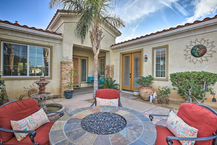 NEW! Indio Home w/ Pool Access ~2 Mi to Coachella!