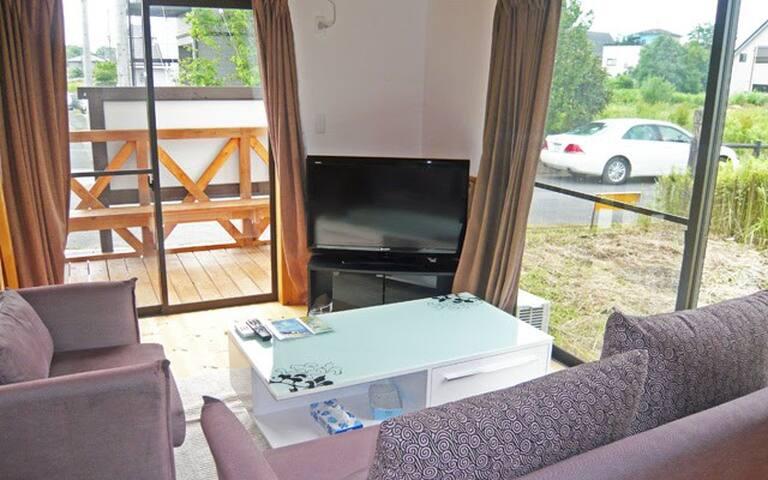 【水辺のアクティビティへ】 琵琶湖まで車で5分 貸別荘 - Takashima-shi - Villa