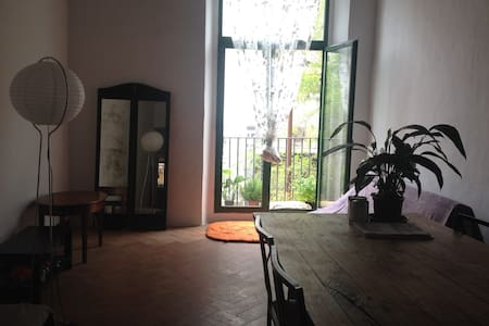 1 bedroom rustic charm apartment in central born - Barcelona - Apartment