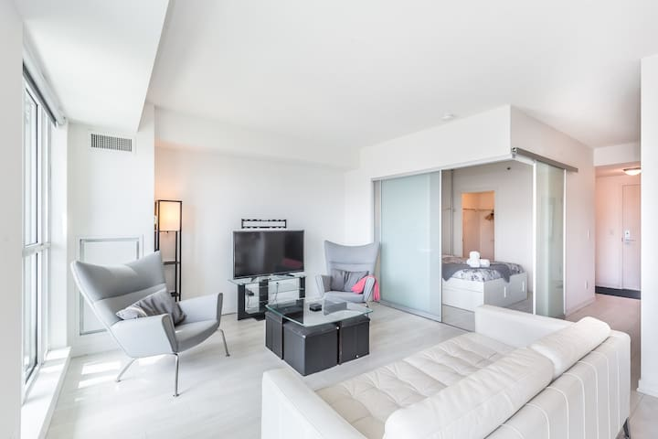 Downtown Condo near Exhibition Place with Balcony