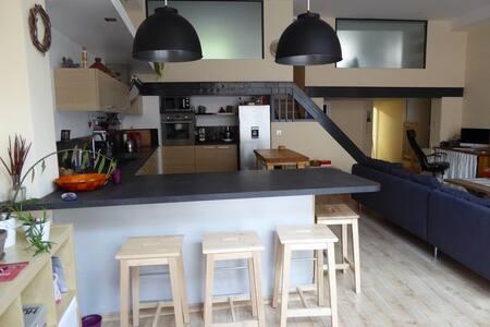 Chambre privée dans Loft XXL  - Briançon - Loft