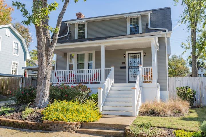 Charming historic home near the lake