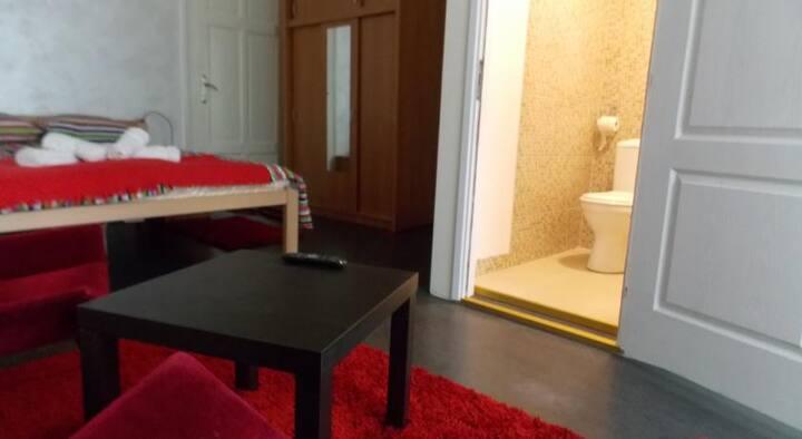 Standard double room+bathroom