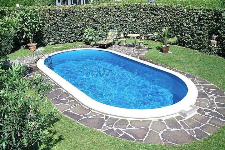Rab, Romantische Haus mit Pool - Kampor - House