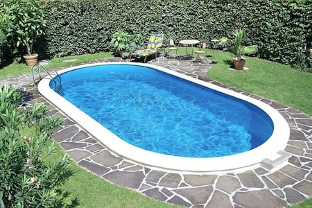 Rab, Romantische Haus mit Pool - Kampor