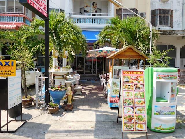 Awmsin House, Large Studio, Two Queen Beds - Muang Pattaya - Apartamento