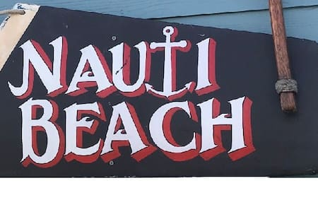 NAUTI BEACH on Bolivar Peninsula -  Pet Friendly