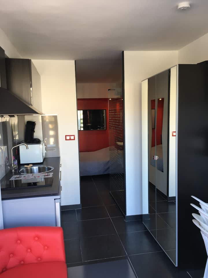 Apartment naturist village Cap d'Agde