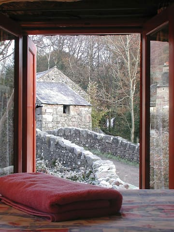 View from bedroom in Winter