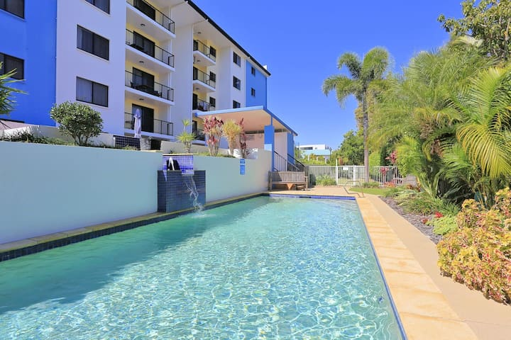 ❤️Coral Sands Oceanview Retreat Bargara❤️Central❤️FREE Wifi/Wine/Netflix/Pool/Parking❤️