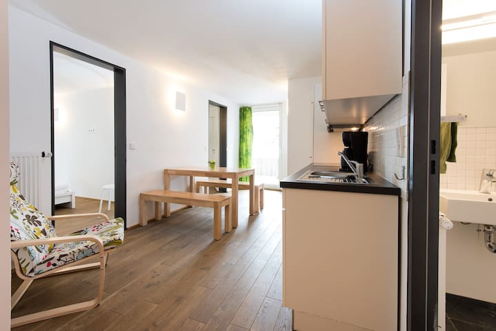 Apartment with Terrace in Historic City Centre - Ravensburg - Lägenhet