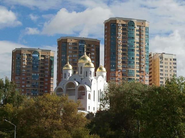 Apartment near Crocus Expo - Putilkovo
