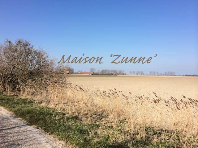 Maison 'ZUNNE' - Groede - Casa