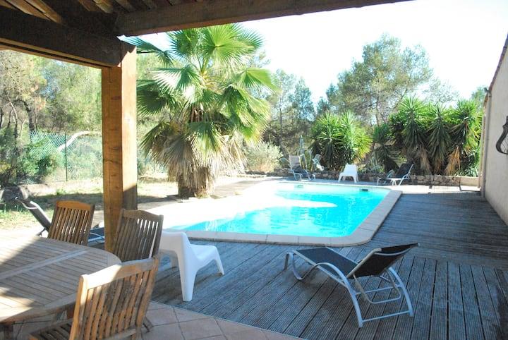 Villa avec piscine privée et jardin région niçoise
