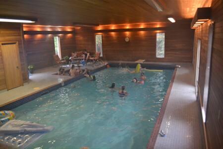 6-bedrooms & your own heated indoor pool!